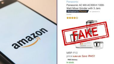 Amazon Big Billion Sale Offer on WhatsApp is Fake: How to Verify This Viral Message